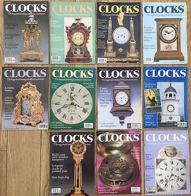 CLOCKS magazine. Vol No15. 1992-93