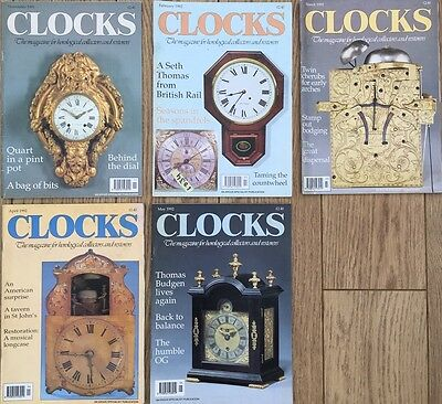 CLOCKS magazine. Vol No14 1991-1992
