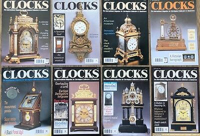CLOCKS magazine. June 1995-1996