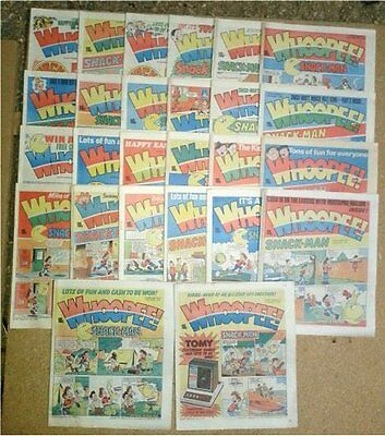 104 Vintage 1982 - 1983 Whoopee Comics  Inc. Whoopee & Wow & 4 Annuals 1982-1985