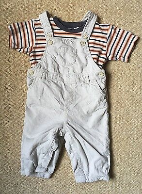 The Little White Company Dungarees 3-6 Months