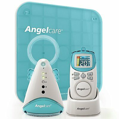 Angelcare AC401 Digital COLOUR Breathing Movement & Sound BABY MONITOR Alarm VGC