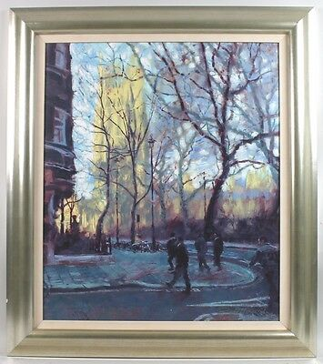 "Rolf Harris - "" Autumn Sunlight, Westminster "" Signed Limited Print On Canvas"