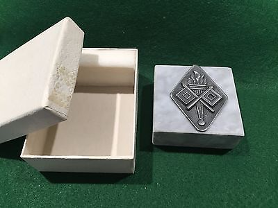 Vintage US Army Signal Corp Paperweight