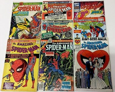 Amazing Spider-man Annual Comic Book Lot Of 8, Issues 2-27, No Reserve!