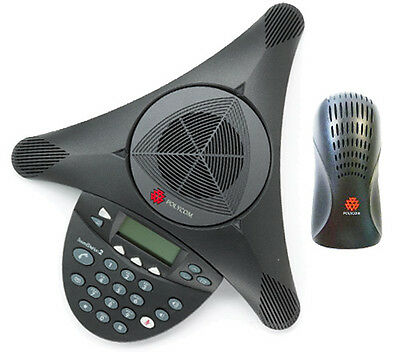 Polycom® SoundStation2™ Full Duplex Conference Phone (Brand New)