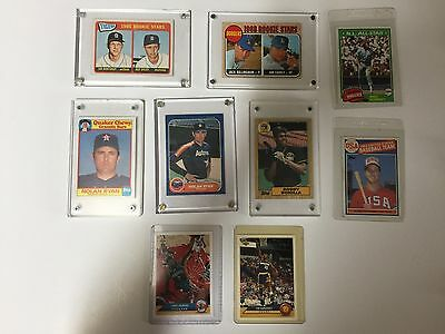 MLB & NBA Sports Card Lot of 9 Mixed Players & Years Not Minted