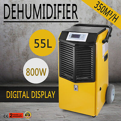 New 97Pints/D Air Dehumidifier Room Wall Dryer Digital Premium Water Dryer