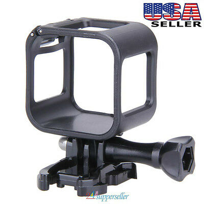 Low Profile Housing Frame Cover Case Mount Holder for GoPro Hero 4 5 Session ABS