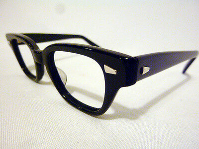 Authentic Vintage Pathway Optical Challenger in Black 40-20 - New Old Stock