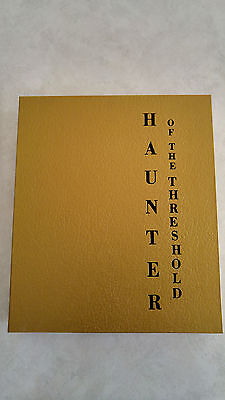 HAUNTER OF THE THRESHOLD Edward Lee Signed Limited Edition