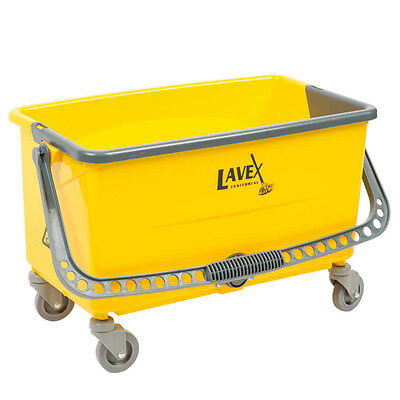 Lavex Janitorial 44 Qt. No-Touch Microfiber Mop Bucket  274MOPBCKTMF *