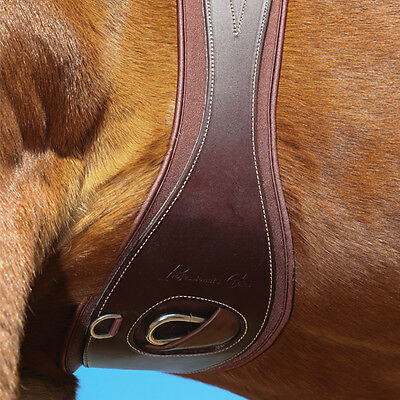 Professional's Choice English All Purpose Leather Ventech Girth Roller Buckles