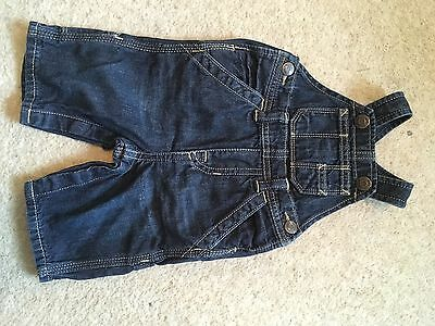 Boys Denim Dungarees From Gap 0-3 Months