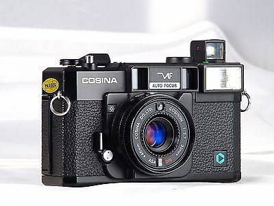 COSINA V AF 2.7 38mm VISITRONIC POINT SHOT EXCELLENT CLA REVISADA CON GARANTIA