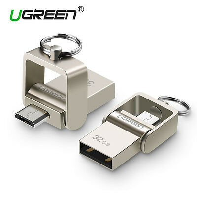 Ugreen Android Flash Drive 32G Micro USB OTG Memory Stick Data Disk for Samsung