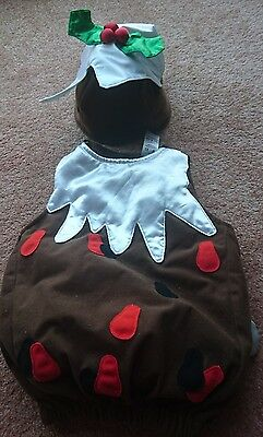 Christmas Pudding Outfit 12-24 months Mothercare
