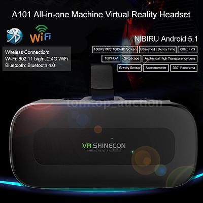 All-in-one Android Octa-Core 2GB/16GB 3D VR Headset Virtual Reality Glasses D0K0