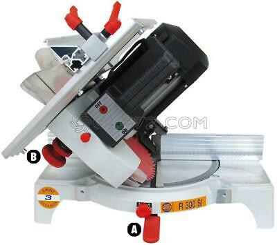 Mitre Saw Frame Wood Cutting Professional Pegic R 300 Si Made In Italy 230V
