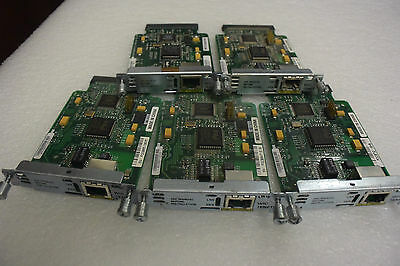 5x CISCO WIC-1ENET Interface card for Cisco routers