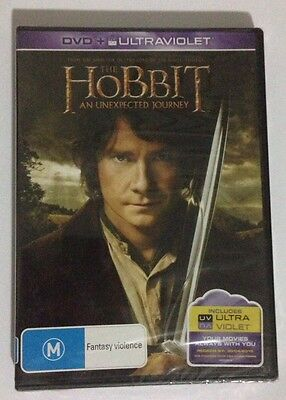 The Hobbit An Unexpected Journey Dvd New/sealed R4