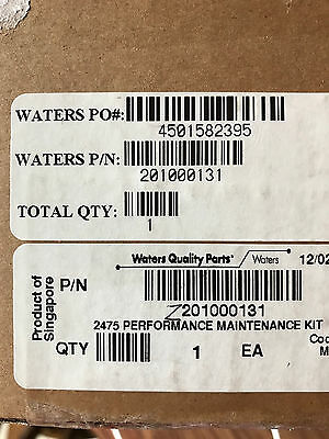 Waters 20100131  Performance Maintenance Kit for 2475  Sealed Box - New
