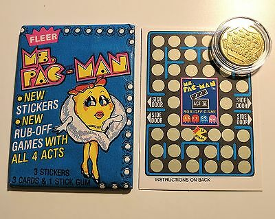 Space Invaders * Arcade Game Brass Token * 1982 Video Expo, World Fair Knoxville
