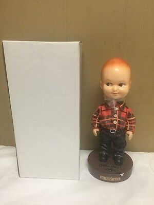 Vintage Buddy Lee Dungarees Bobblehead Doll New In Box