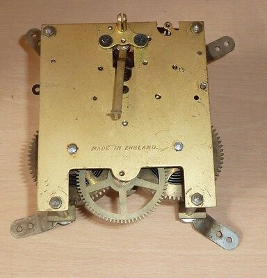 Vintage striking clock movement 'Made in England' for spares