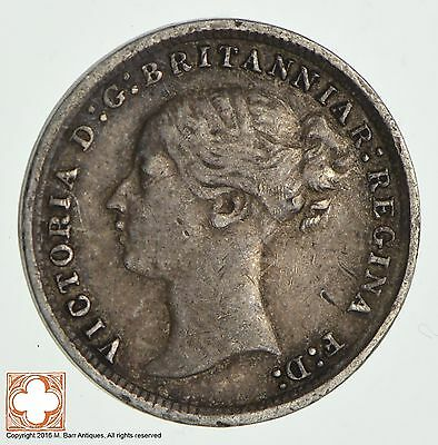 1873 Great Britain 3 Pence *9685