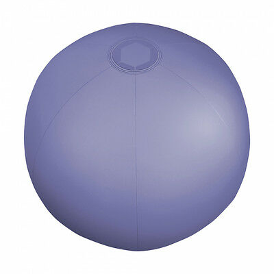 """6 x Translucent Blue Inflatable Blowup Beach Ball's 9"""""""