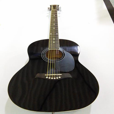 Ebay Item - Tiger Black Acoustic Guitar - Minor imperfections