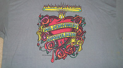 Size XL PHIL LESH & FRIENDS Benefit Concert T-Shirt 2001 Grateful Dead Company