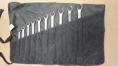 BONNEY Flare Nut & Box Combination 10 Piece Wrench Set in Estex Roll up Case