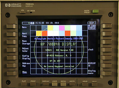 NewScope-7A LCD kit for HP 70004A Color System Display