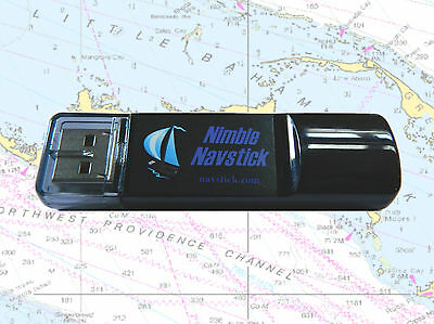 Navstick: USB Chartplotter with Built-in GPS, Detailed World Charts included