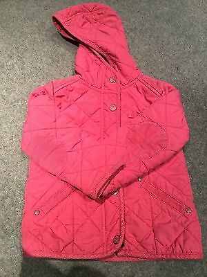 12-18 Month Girls Pink Lightweight Padded Coat Jacket From Next