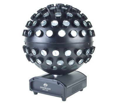 American DJ SPHERION WH LED Mirror Ball Effect Light W/ Razor Sharp Beam