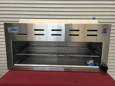 """NEW 36"""" Cheesemelter Stratus SCM-36 #6252 Commercial NSF Avail in Gas or Propane"""