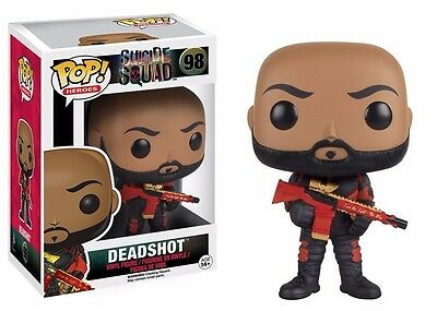 Funko Pop! Movies Suicide Squad Deadshot (No Mask) Vinyl Action Figure