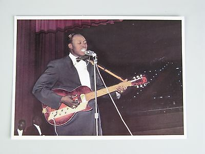 Jimmy Reed Vintage Postcard / American Blues Musician and Songwriter