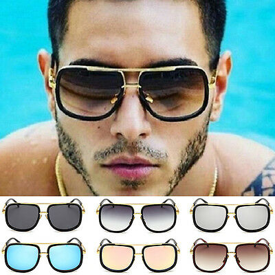 New Retro Mens Womens Celebrity Square Luxury fashion Sunglasses Unisex UV400
