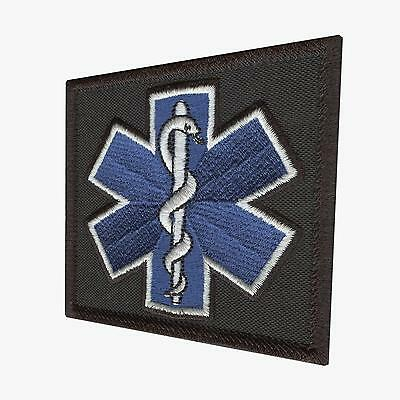 star of life EMS EMT paramedic tactical morale aufnäher sew iron on patch