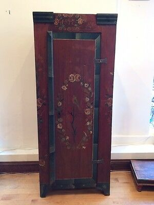 Antique Hand Painted Tall Cabinet From 1817