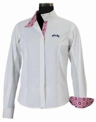 Equine Couture Kelsey Short Sleeve Show Shirt Child
