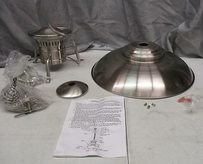 "World Imports Lighting ""Luray"" 1 Light Pendant Brushed Nickel (Model WI7610137)"