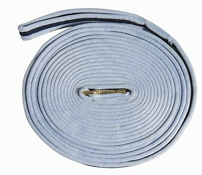 Kincade Two Tone Padded Lunge Line with Hand Loop End for Horse Training