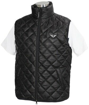 Tuffrider Alpine Quilted Men's Vest Polyester with Zipper Pull and Two Pockets
