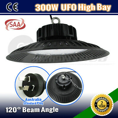 300W Ufo High Bay Work Led Light Warehouse Industrial Factory Workshop Down Lamp