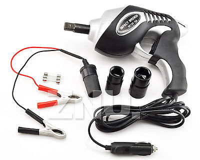 12v  CAR 1/2'' Electric Impact Wrench Rattle Gun Driver Torque Tools Air